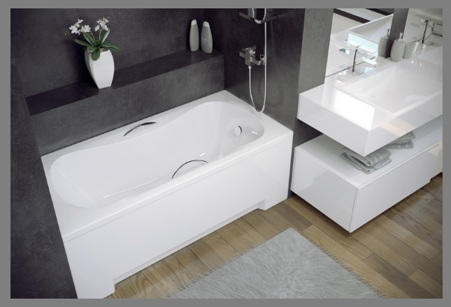 badewanne rechteck viega simplex 130 140 150 160. Black Bedroom Furniture Sets. Home Design Ideas