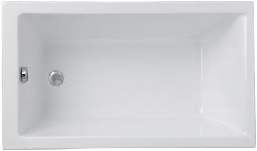 badewanne rechteck acryl 120x70 140x70 150x70 160x70 capri. Black Bedroom Furniture Sets. Home Design Ideas
