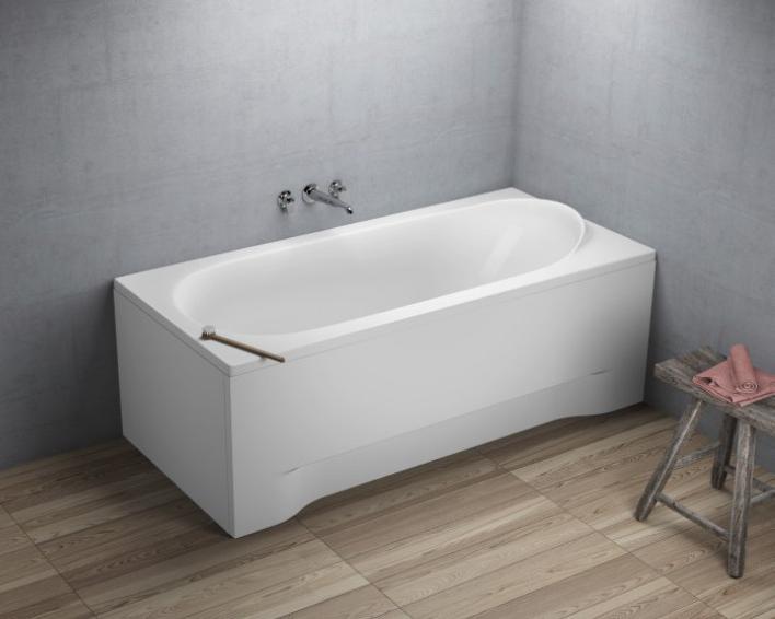 rechteckwanne badewanne mit wannentr ger ablaufgarnitur. Black Bedroom Furniture Sets. Home Design Ideas
