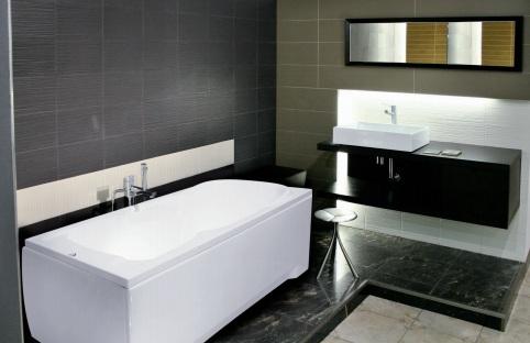 badewanne rechteck acryl 120 130 140 150 160 170x70. Black Bedroom Furniture Sets. Home Design Ideas
