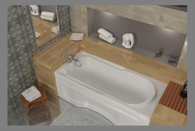 badewanne wannentr ger tr ger rechteck acryl wanne 160x75 170x75 standard wt ebay. Black Bedroom Furniture Sets. Home Design Ideas