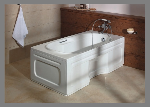 badewanne rechteck acryl wannentr ger 140x75 150x75 wanne. Black Bedroom Furniture Sets. Home Design Ideas