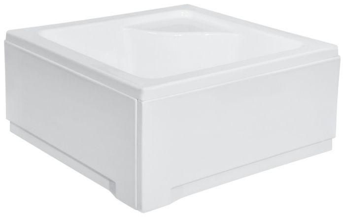 duschwanne rechteckig sch rze sitz 80x80 90x90x24x38 viega silikon igor v50 sl ebay. Black Bedroom Furniture Sets. Home Design Ideas