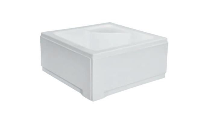 Duschwanne tasse igor dusche acryl f e 50 sch rze 80x80 for Dusche ohne tasse
