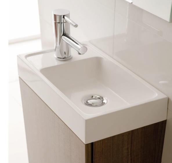 badm bel set waschbecken schrank waschtisch wei grau wenge 40 cm breit tom ebay. Black Bedroom Furniture Sets. Home Design Ideas