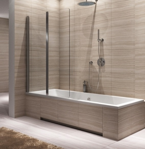 Duscharmatur Montieren : nur Duschabtrennung. Badewanne und Duscharmatur sind nicht verf?gbar
