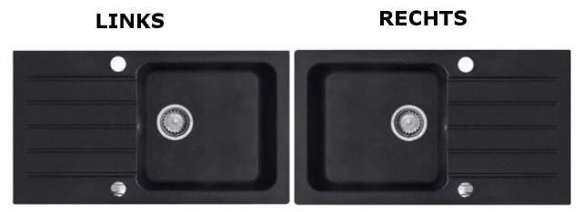 ... Granit Küche Einbauspüle 78x44 Schwarz Beige Armatur CL  eBay