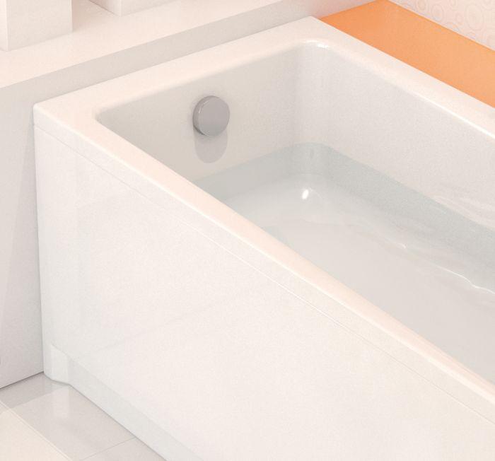 badewanne rechteckige f e alpine wei acryl 140 150 160 170x70 wanne flavia fo ebay. Black Bedroom Furniture Sets. Home Design Ideas