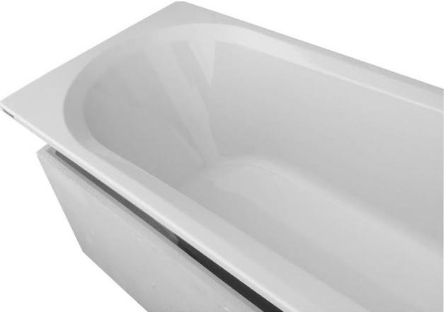 badewanne rechteck wanne tr ger acryl 140 150 160 170x70 ablaufgarnitur idea wt ebay. Black Bedroom Furniture Sets. Home Design Ideas