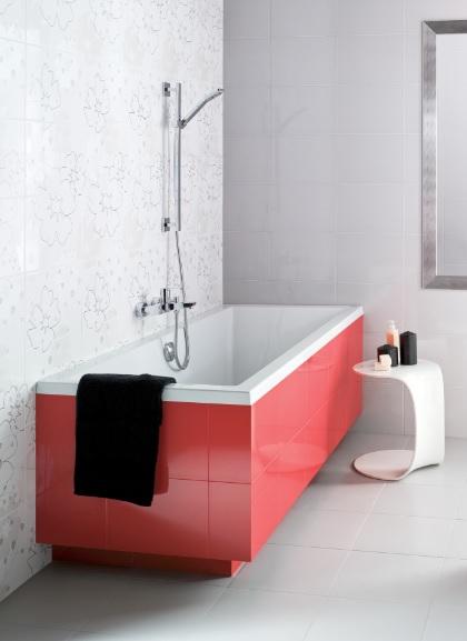 badewanne rechteck wanne mit f en acryl wei bad 140 150 160 170x75 intro fo ebay. Black Bedroom Furniture Sets. Home Design Ideas