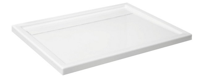 vbcbad duschwanne unterbau tr ger duschtasse flach ablauf acryl camparo ap50 t ebay. Black Bedroom Furniture Sets. Home Design Ideas