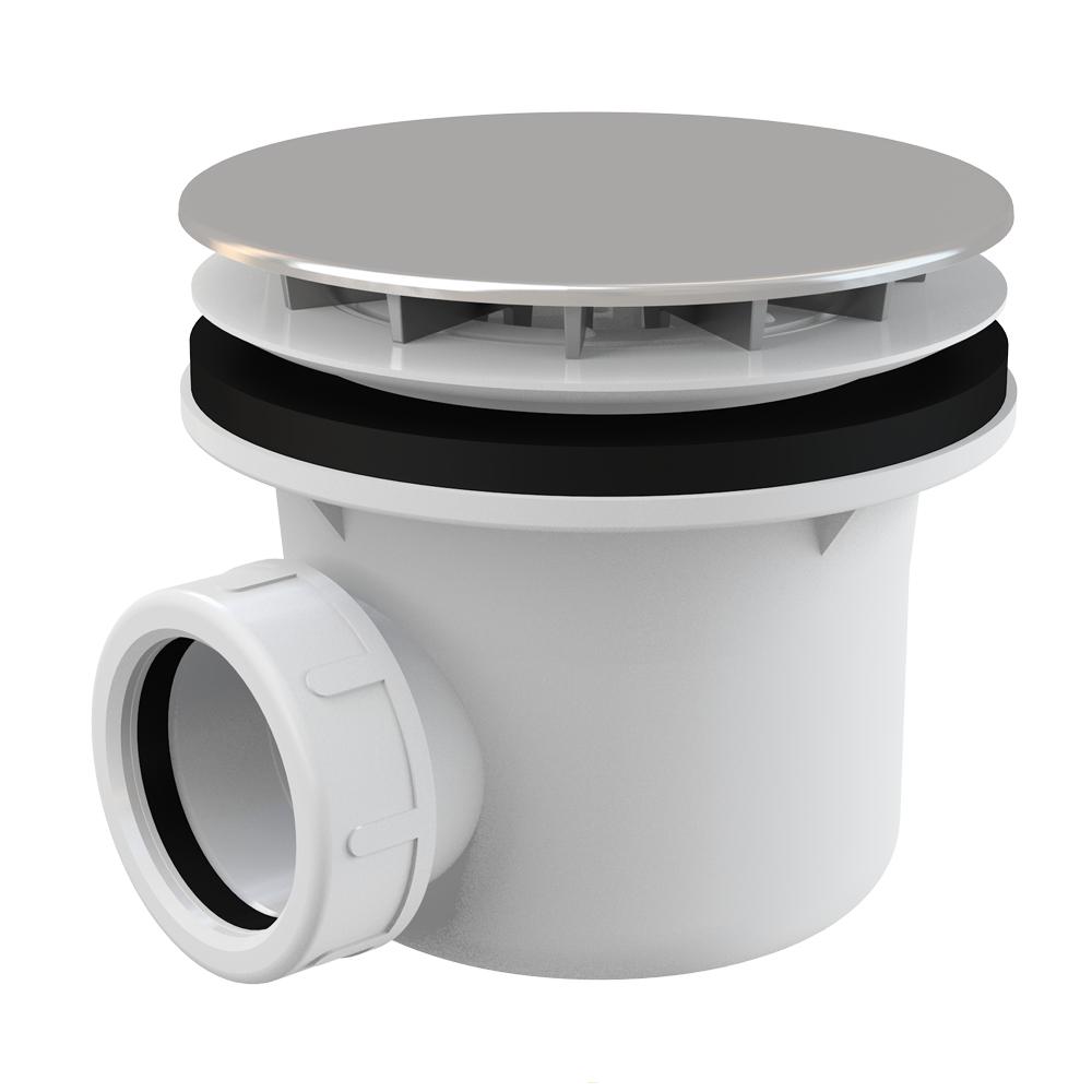 VBCbad® Duschwanne Duschtasse Rechteckig Ablaufgarnitur Siphon Arcryl GLT