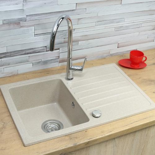sp le sp lbecken granit k che einbausp le 70x45 schwarz beige neu design nexl ebay. Black Bedroom Furniture Sets. Home Design Ideas