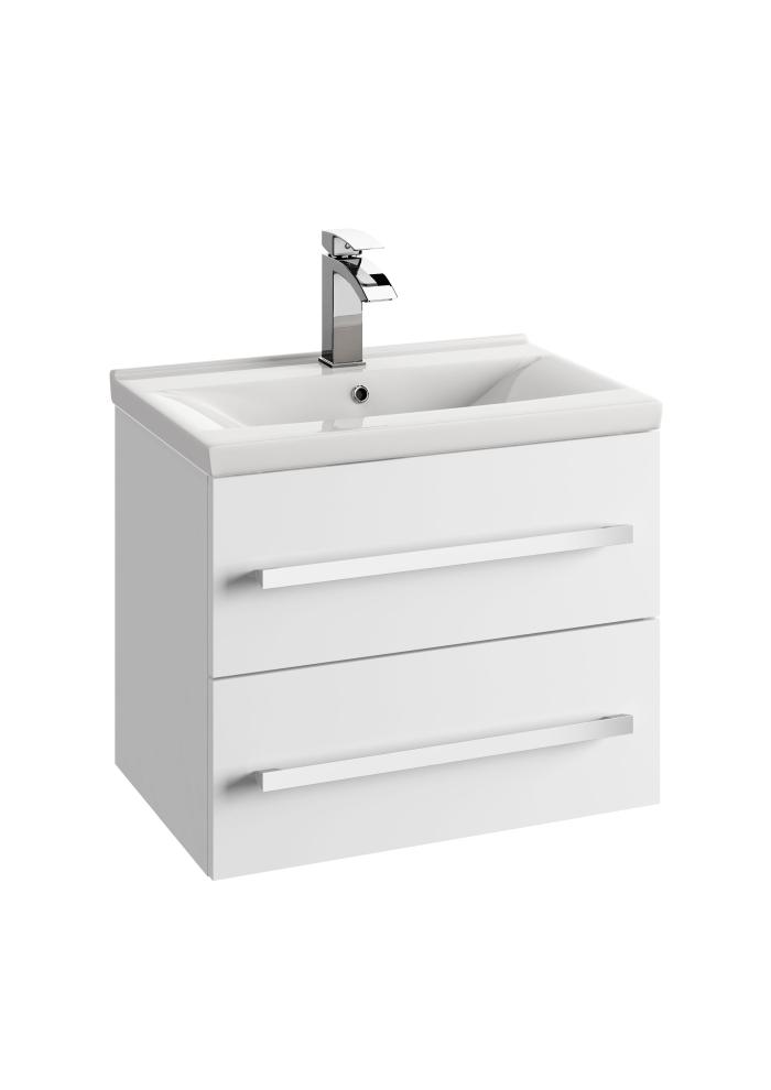 vbcbad badm bel waschbecken mit unterschrank schubladen wei grau ana ebay. Black Bedroom Furniture Sets. Home Design Ideas